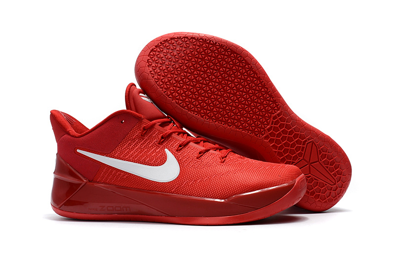 2017 New Nike Kobe 12 AD Red Mamba Shoes