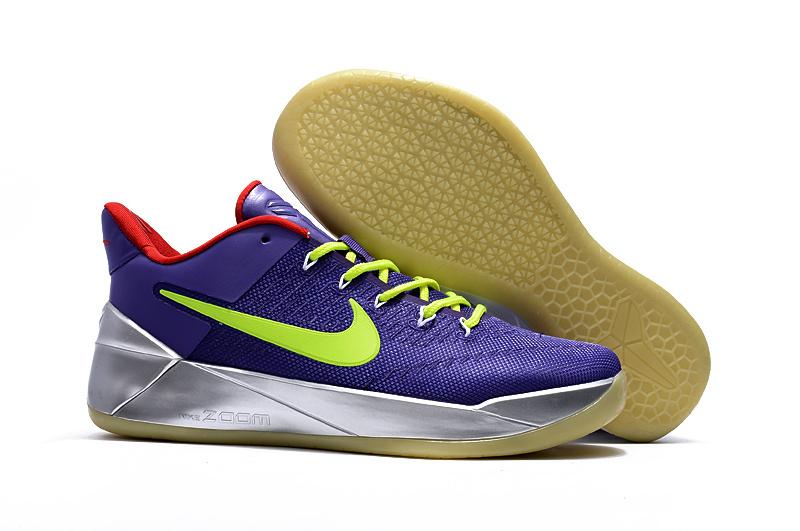 2017 Nike Kobe 12 AD Blue Sliver Rebirth Shoes