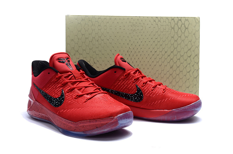 Nike Kobe 12 AD Black Red Basketball Shoes