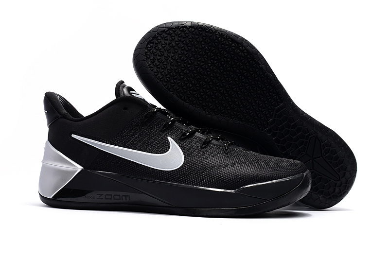 Nike Kobe 12 AD Black Sliver Storm Basketball Shoes