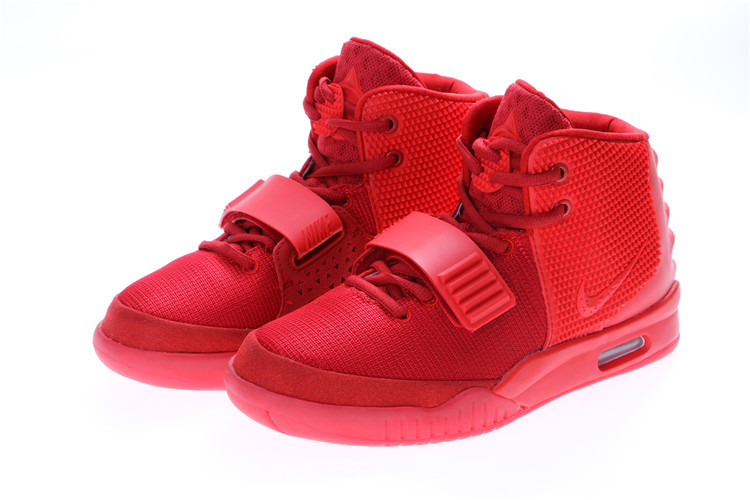 2014 Nike Air Yeezy 2 Original Red October Shoes