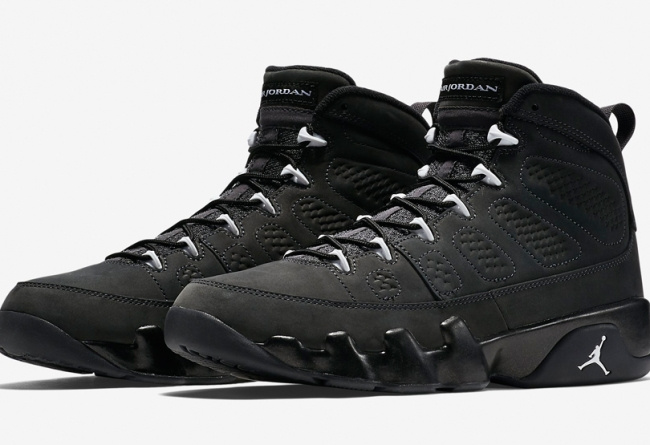 Air Jordan 9 Retro Anthracite Basketball Shoes