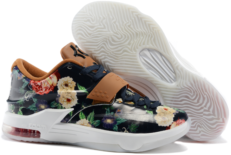 New Nike KD 7 Flower Print Shoes