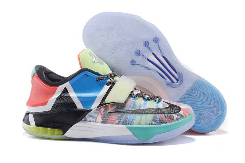 New Nike KD 7 Midnigh Colorful Shoes