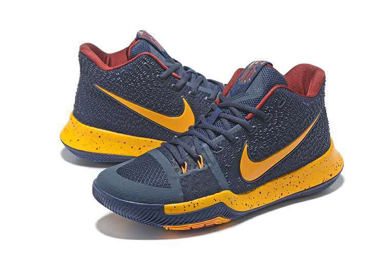 2017 Nike Kyrie 3 Cleverland Team Basketball Shoes