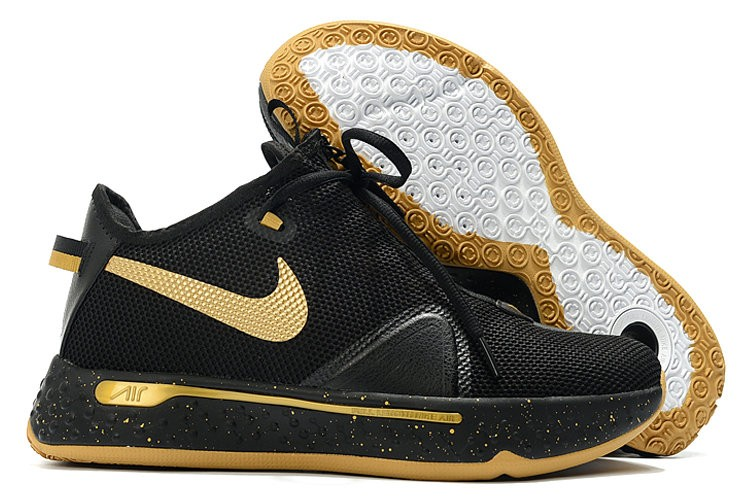 Nike PG 4 Black Gold Shoes