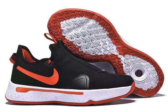 Nike PG 4 Black Red White Shoes