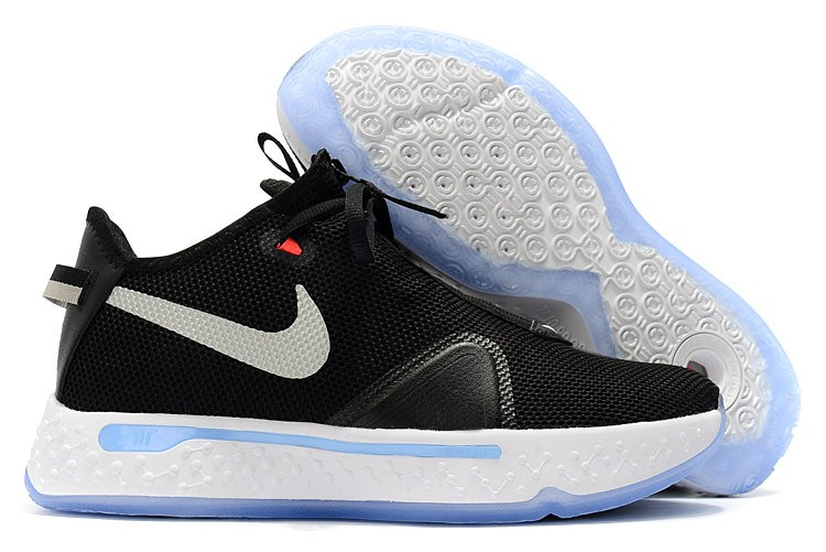 Nike PG 4 Black White Oce Sole Shoes