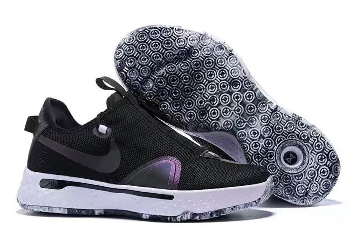 Nike PG 4 Black White Shoes