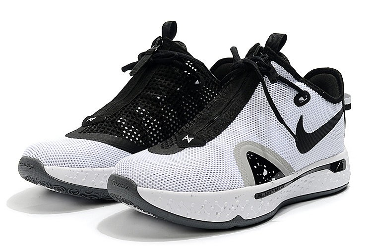 Nike PG 4 White Black Shoes