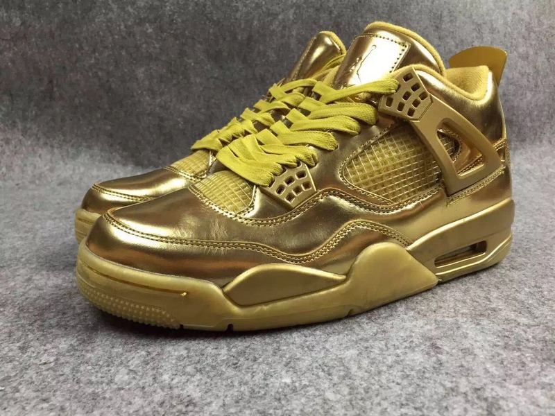 Air Jordan 4 Liquid Gold Shoes