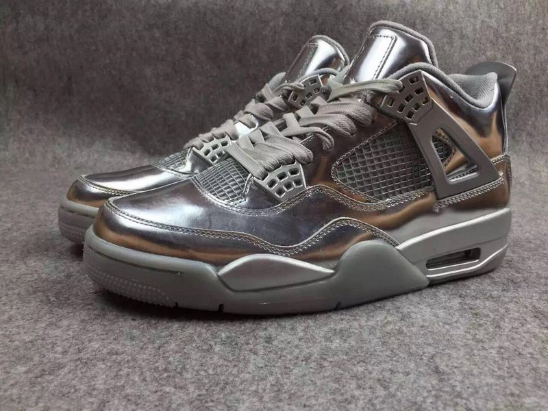 Air Jordan 4 Liquid Sliver Shoes