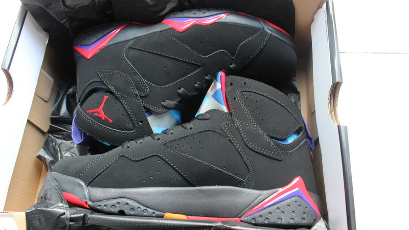 Nike Air Jordan 7 Black Purple Sneaker