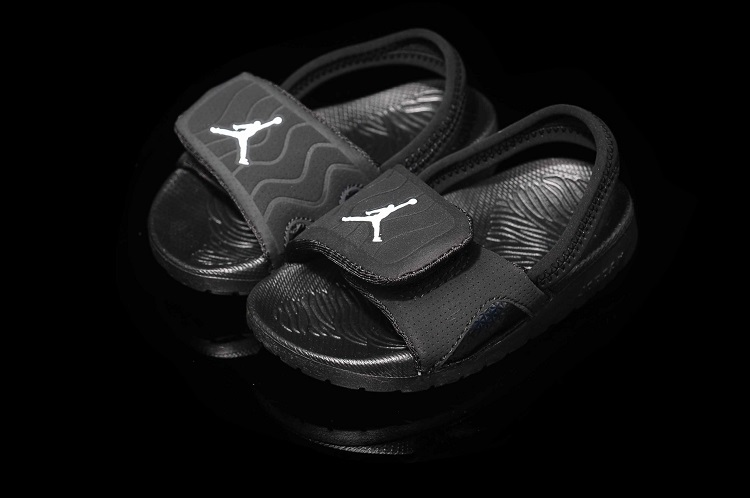 All Black Nike Air Jordan Hydro Sandale For Sale
