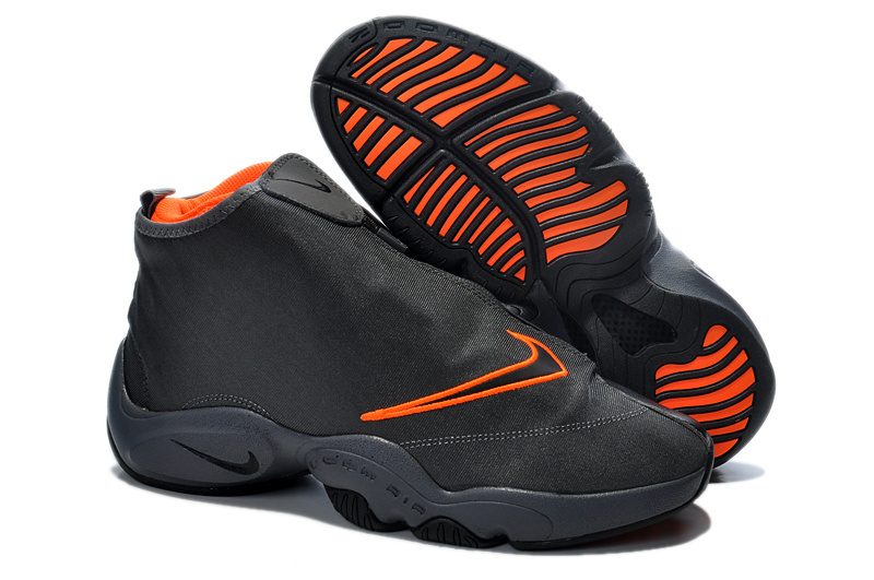 Classic 2014 Nike Glove Payton Black Orange Shoes