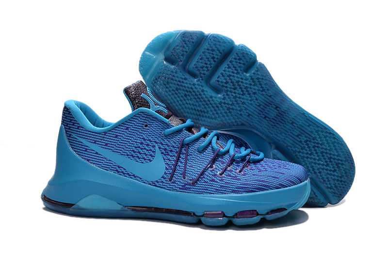 Factory Outlet KD 8 Photo Blue Royal Blue Univeristy Blue Shoes On Sale