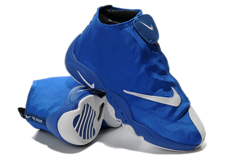 Latest 2014 Nike Glove Payton Classic Blue White Shoes