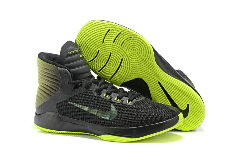 NIKE PRIME HYPE DF 2016 ALL Star Black Green Shoes