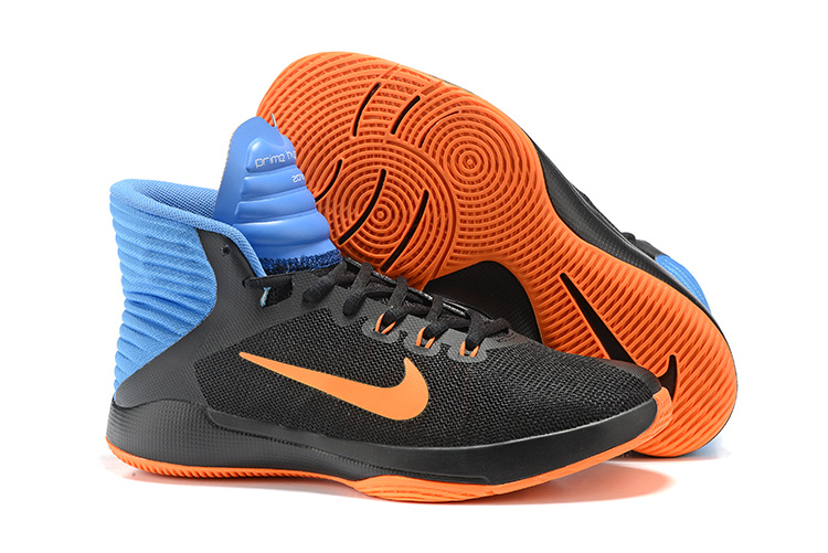 NIKE PRIME HYPE DF 2016 ALL Star Black Orange Blue Shoes