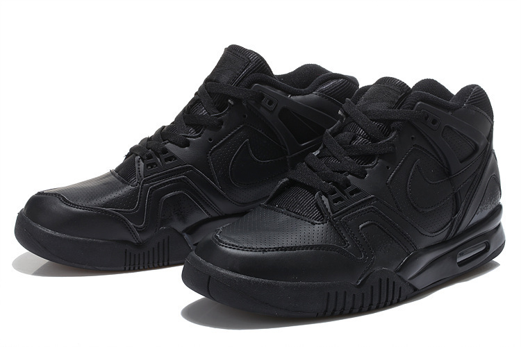 New Nike Airtech Chaiienge II All Black Sneaker For Sale