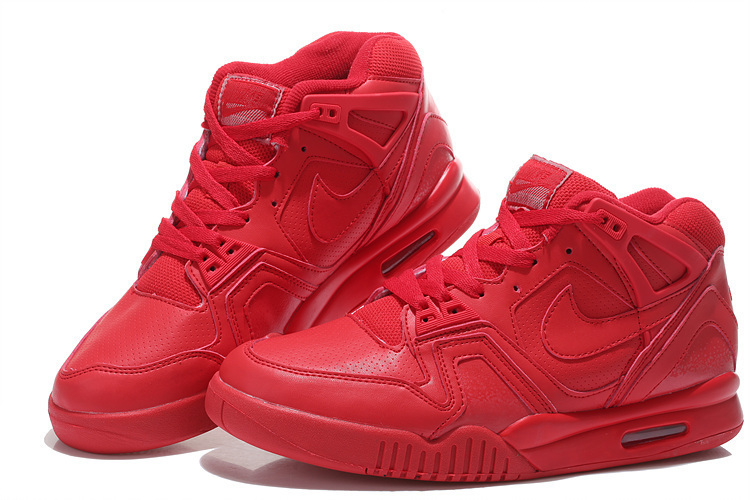 New Nike Airtech Chaiienge II All Red For Sale