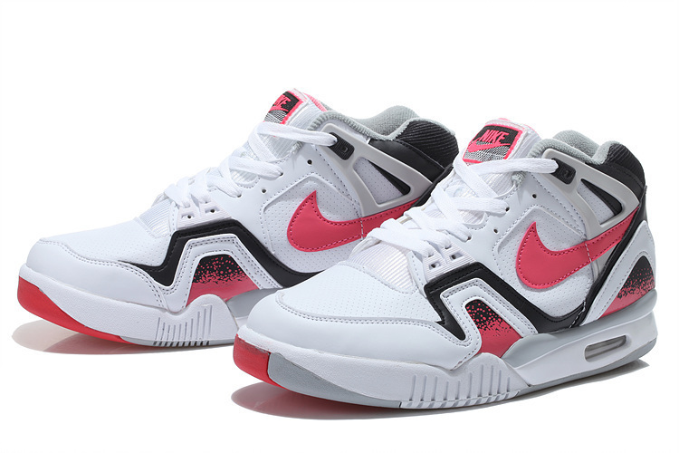 New Nike Airtech Chaiienge II White Black Red On Sale