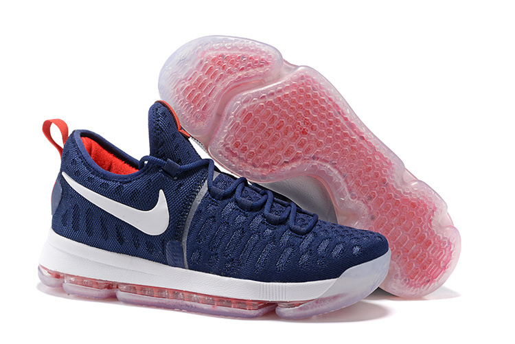 New Nike KD 9 USA Theme Air Cushion Basketball Shoes