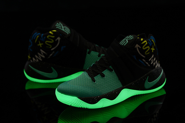 New Nike Kyrie 2 Mint Green Glow In Dark Sole Basketball Shoes