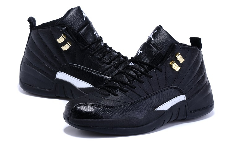 Nike Air Jordan 12 All Black For Sale