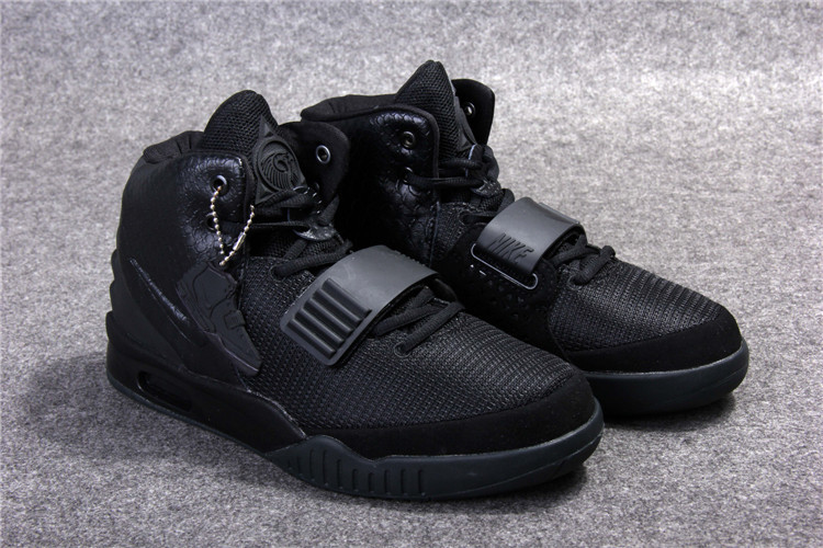 New Nike Air Yeezy 2 Original Blackout Shoes