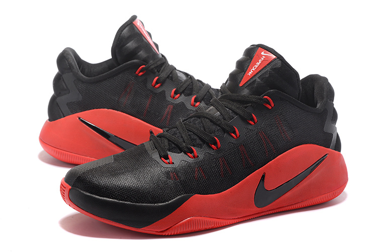 New Nike Hyperdunk 2016 Olympic Black Red Shoes