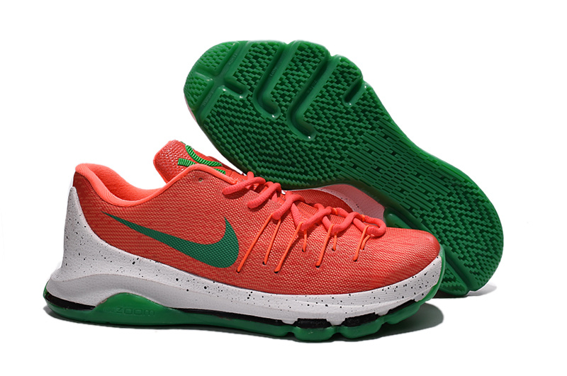 2016 Nike KD 8 Orange Green Sneaker