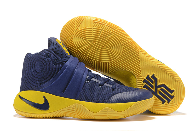 New Nike Kyrie 2 Navy Blue Shoes