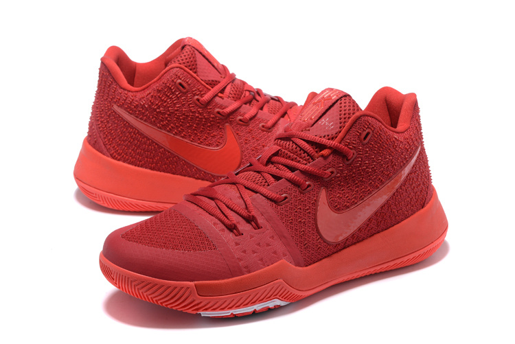 New Nike Kyrie 3 Chinese Red Basketball Shoes