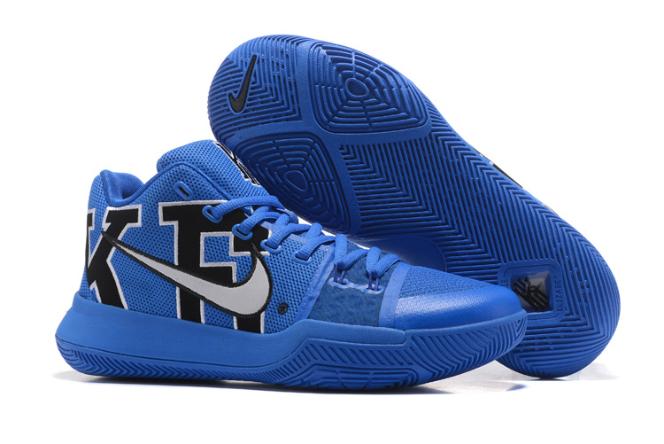 New Nike Kyrie 3 Jade Blue Black Shoes