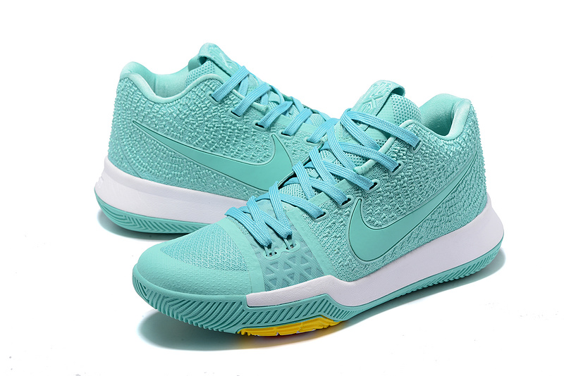 New Nike Kyrie 3 Light Mint Green Basketball Shoes