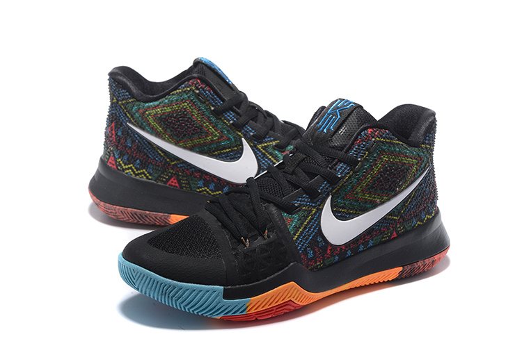 New Nike Kyrie 3 The Black Month Shoes