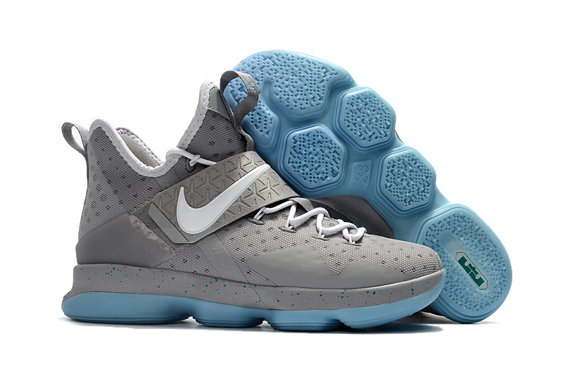 New Nike Lebron 14 Jade Grey Shoes On Sale