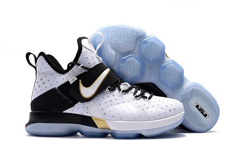 New Nike Lebron 14 White The Black Month Shoes