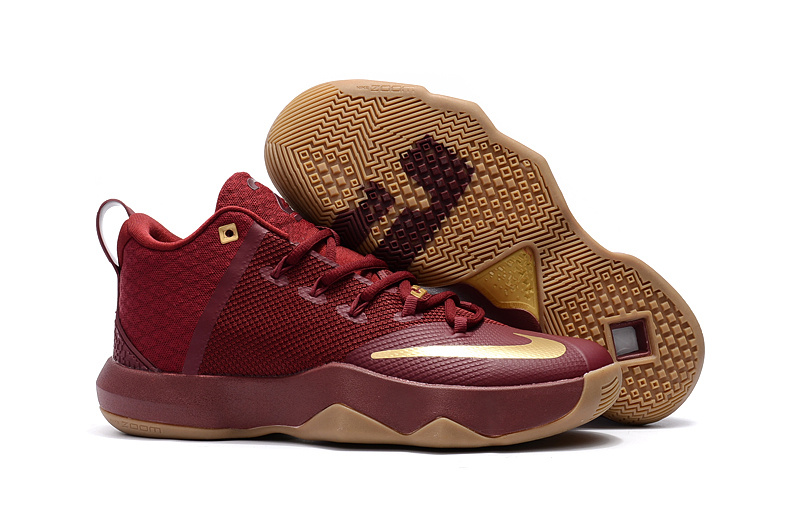 New Nike Lebron Ambassador 9 Cleverland Basketball Shoes
