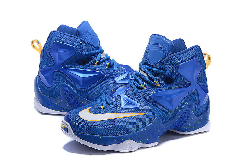2016 Nike Lebron 13 Blue White Sneaker For Sale