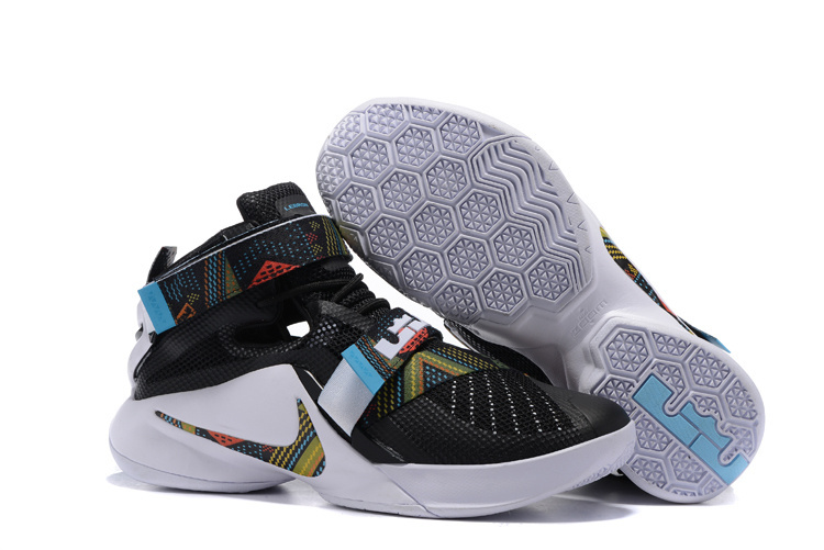 New Nike Lebron Solider 9 The Black Month Shoes