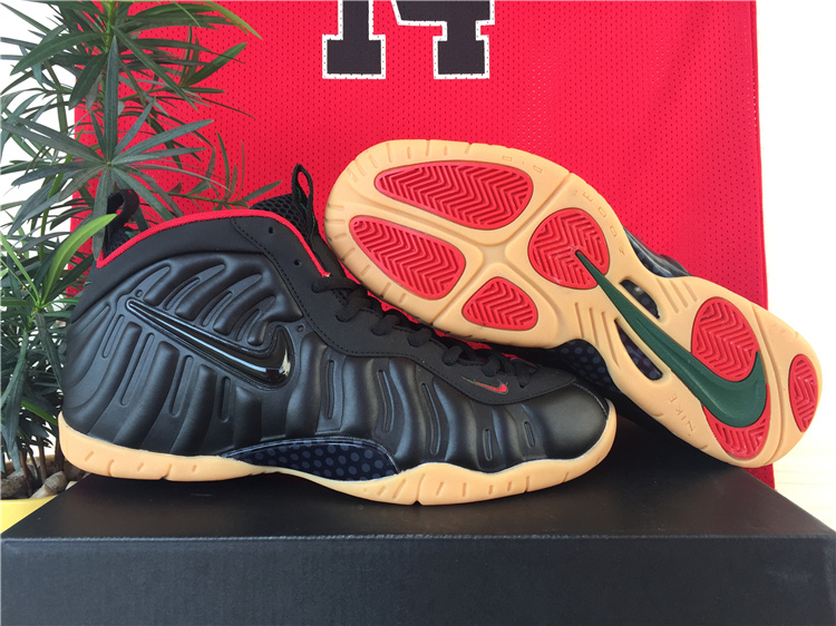 Nike Penny Hardaway Black Yellow Basketball Sneakers