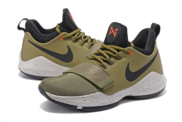 New Nike Zoom PG 1 Army Green Shoes_