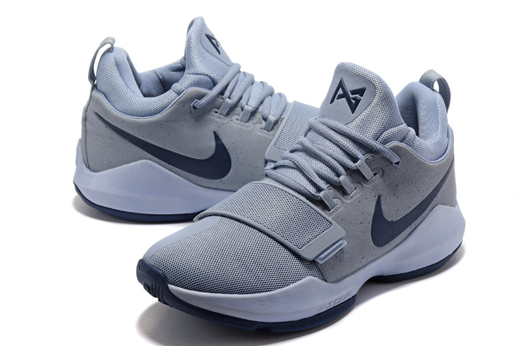 New Nike Zoom PG 1 Grey Purple Shoes