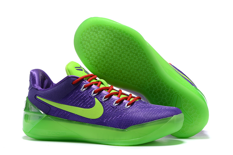 New Women Nike Kobe 12 AD Lakers Purple Shoes