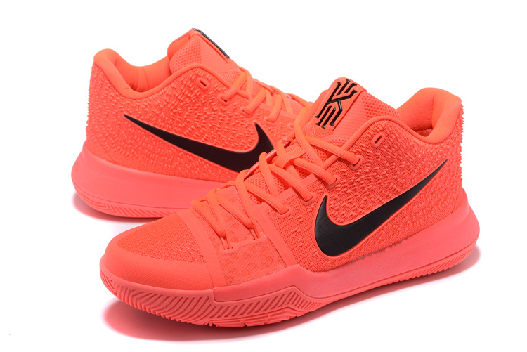 New Women Nike Kyrie 3 Light Red Shoes
