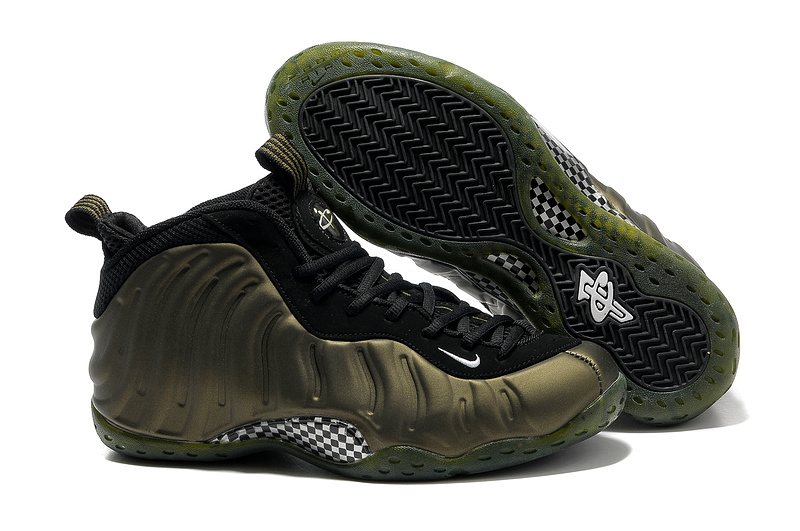Newest Penny Hardaway 1 Nike Army Black Shoes