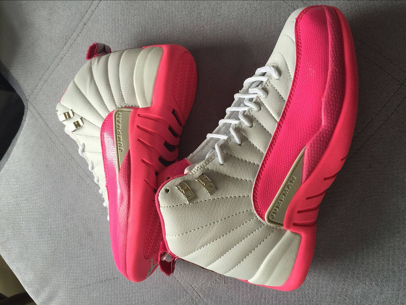 Nike Air Jordan 12 GS Valentine Day Basketball Shoes