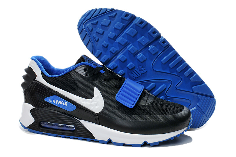 Nike Air Max 90 Monster Black Blue White Sneaker For WOmen